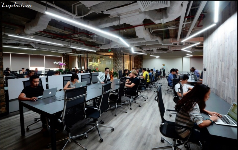 Tiện nghi trong không gian làm việc chung tại Dreamplex Coworking Space
