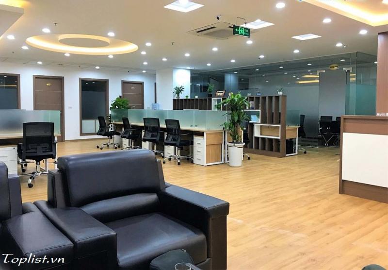 Không gian làm việc mang đậm tính chuyên nghiệp, sang trọng của Hanoi Office