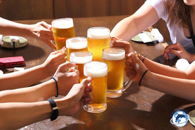 Phong cách làm việc của người Nhật Bản Ăn uống sau giờ làm