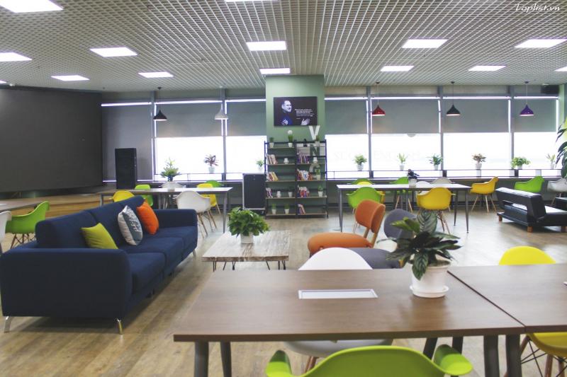 Không gian làm việc hiện đại, chuyên nghiệp và sáng tạo tại Tiktak
