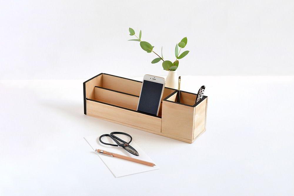 hộp đựng bút bằng gỗ handmade
