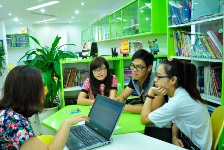Các bạn học viên năng động của Language Link