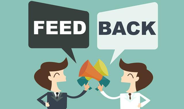 Bạn nên sẵn sàng đối mặt với phản hồi về công việc từ mọi người