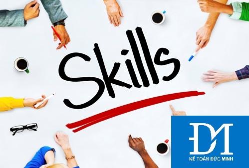 10 kỹ năng cần có của một nhân viên kế toán