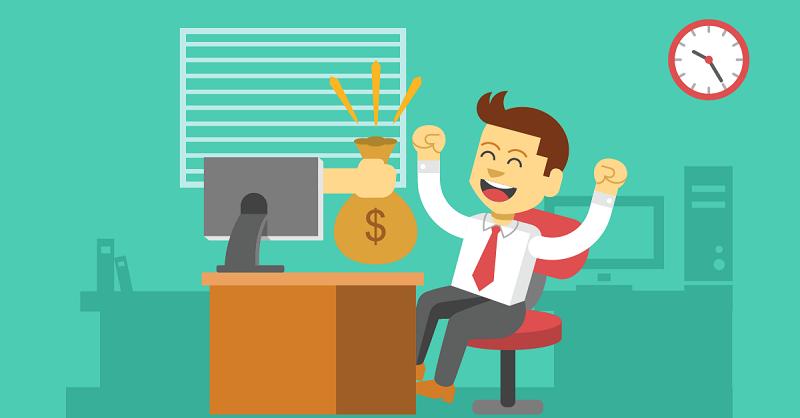 Nhân viên bán hàng trực page online