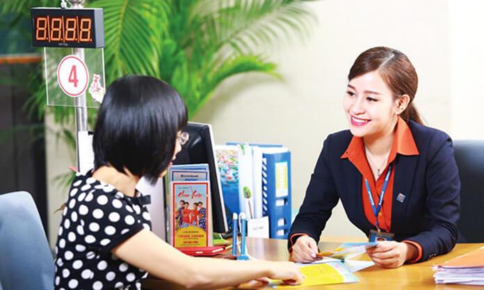 Lương giao dịch viên tại sacombank