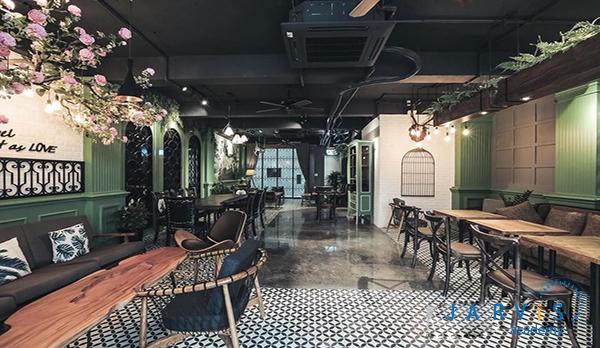 thiết kế không gian lý tưởng cho quán cafe 3