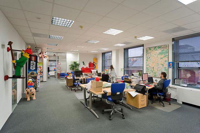 Ngỡ ngàng với những văn phòng làm việc đẹp nhất thế giới - 11