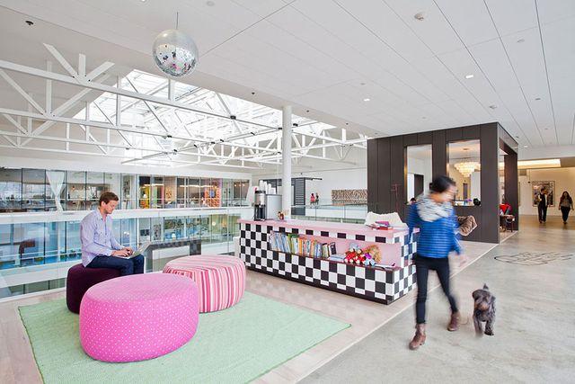 Ngỡ ngàng với những văn phòng làm việc đẹp nhất thế giới - 6