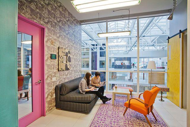 Ngỡ ngàng với những văn phòng làm việc đẹp nhất thế giới - 5