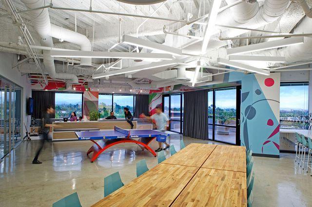 Ngỡ ngàng với những văn phòng làm việc đẹp nhất thế giới - 8