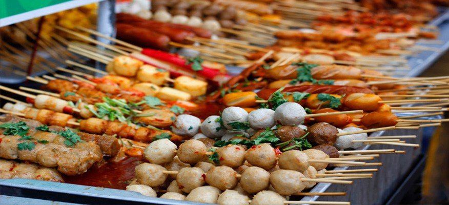 Bán đồ ăn, đồ ăn vặt tại nhà, online
