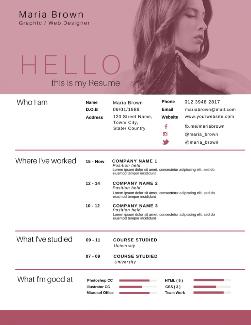 30 most impressive resume templates