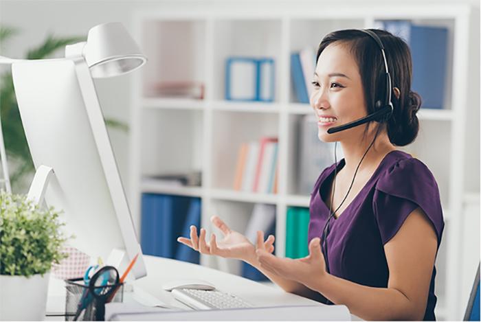 Tư vấn khách hàng trực tuyến là việc làm thêm online tại nhà được ưa chuộng