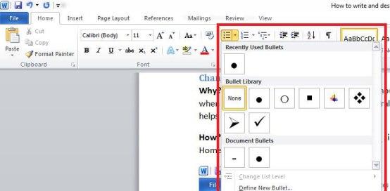Cách thiết kế cv trên word đơn giản nhanh chóng