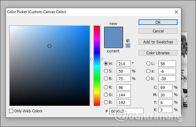 Chọn màu sắc mới