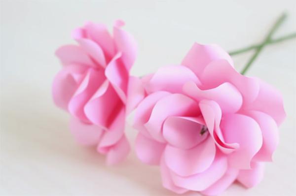 Cách làm hoa bằng giấy handmade đa phong cách