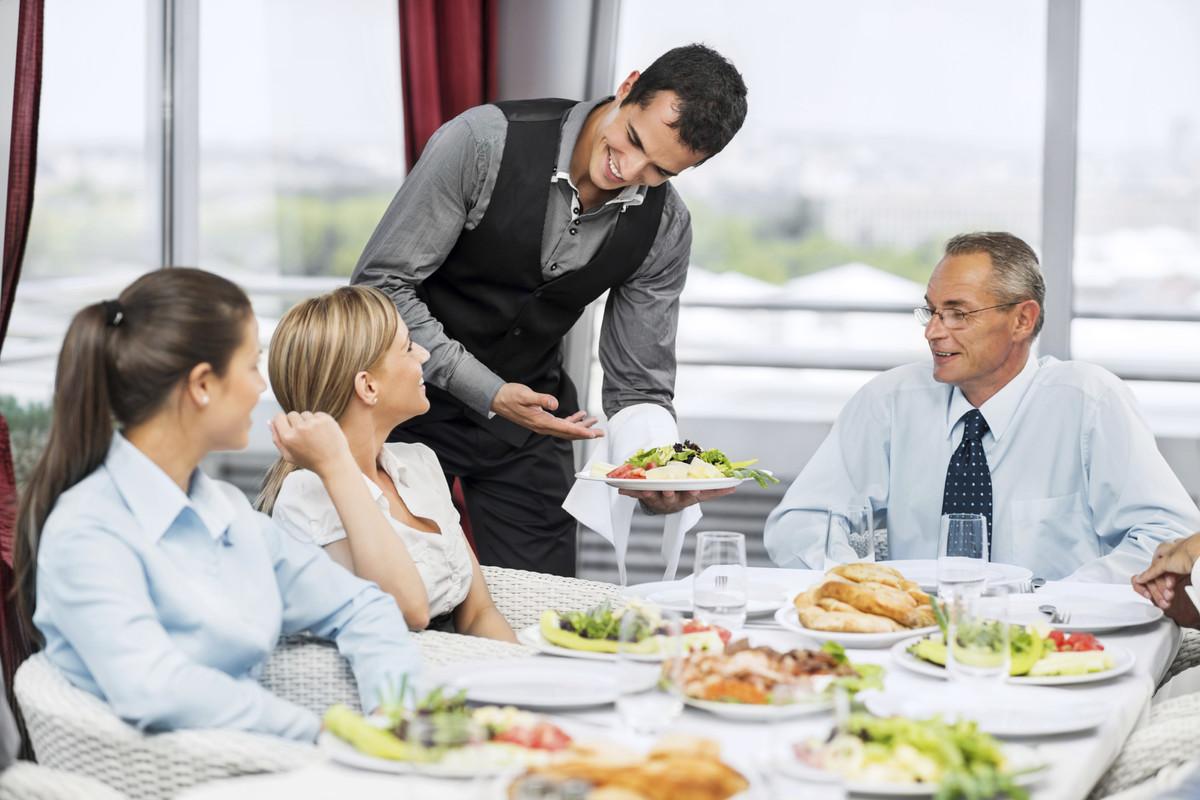 Công việc Nhân viên phục vụ bàn