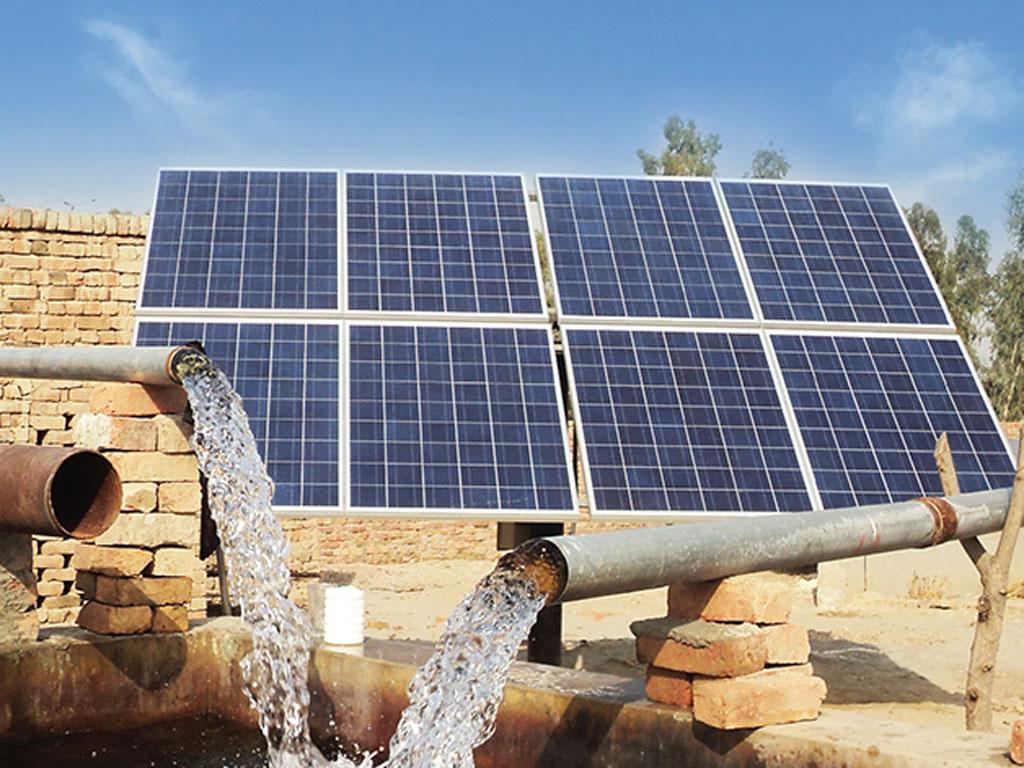 Hệ thống bơm nước năng lượng mặt trời cho lĩnh vực Nông Nghiệp