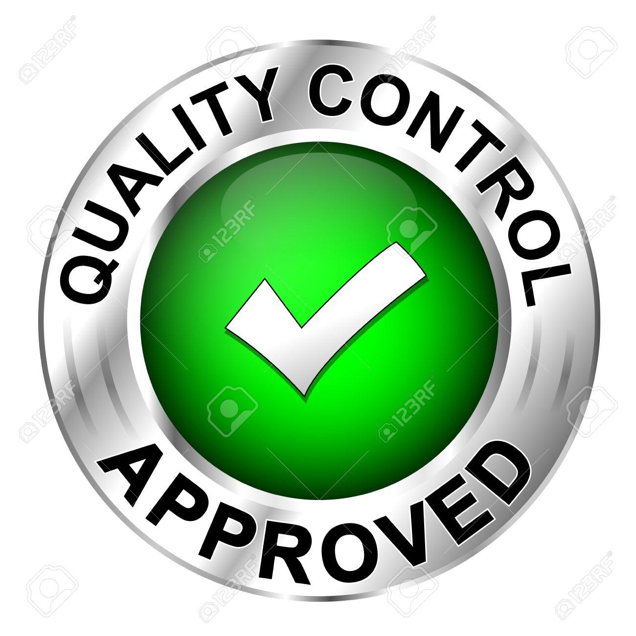 Icon Quality Control Approved Cliparts, Vector, Và Stock Hình ảnh Minh Họa  Miễn Phí Bản Quyền. Image 21322396.