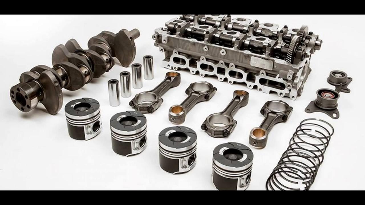 Động cơ ô tô và các linh kiện phụ tùng động cơ thay thế