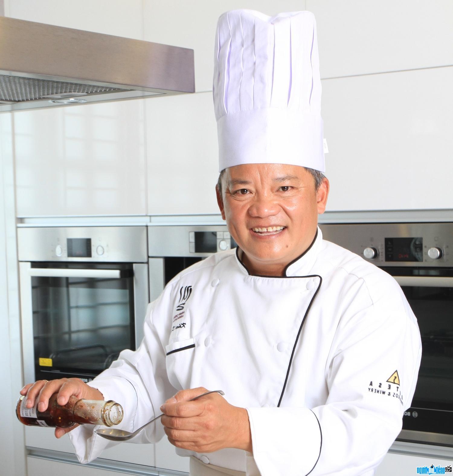 Bếp trưởng Dương Duy Khải