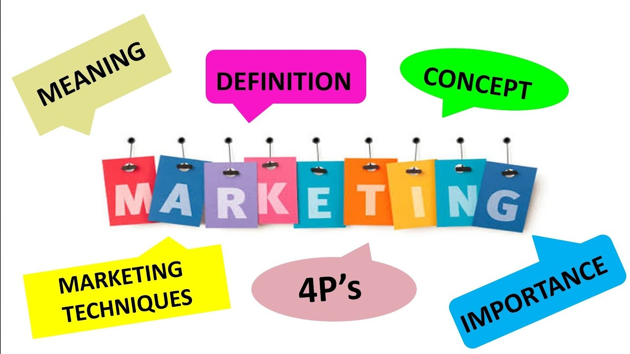 What is Marketing, Meaning, Definition by Author's, Concept, 4P's,  importance, Marketing in India - YouTube