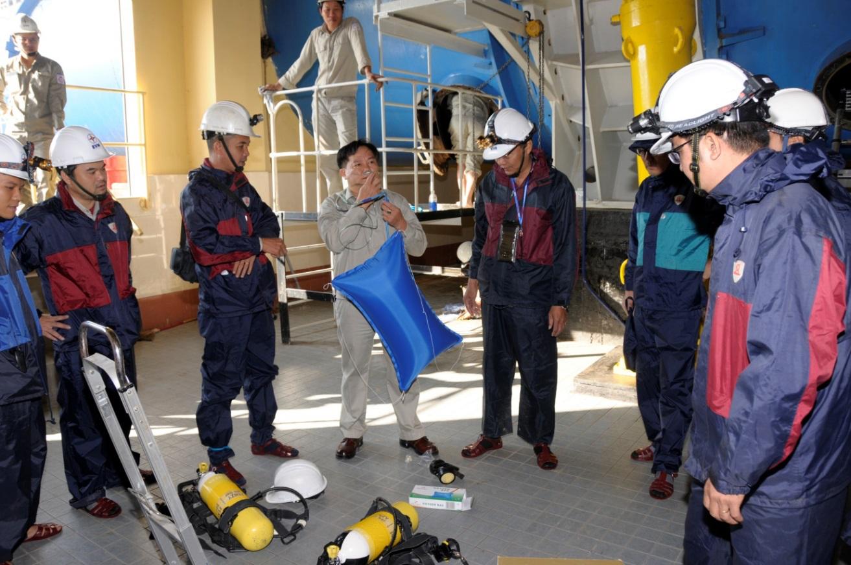 Kiểm tra, bảo dưỡng vận hành an toàn Nhà máy thủy điện A Vương