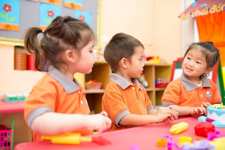 trường mầm non quốc tế tại Hà Nội - KinderWorld