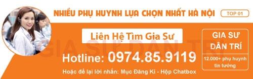 trung tâm gia sư tại Hà Nội- Dân Trí