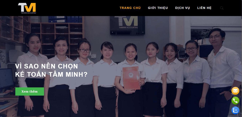 công ty kế toán Đà Nẵng-công ty Tâm Minh
