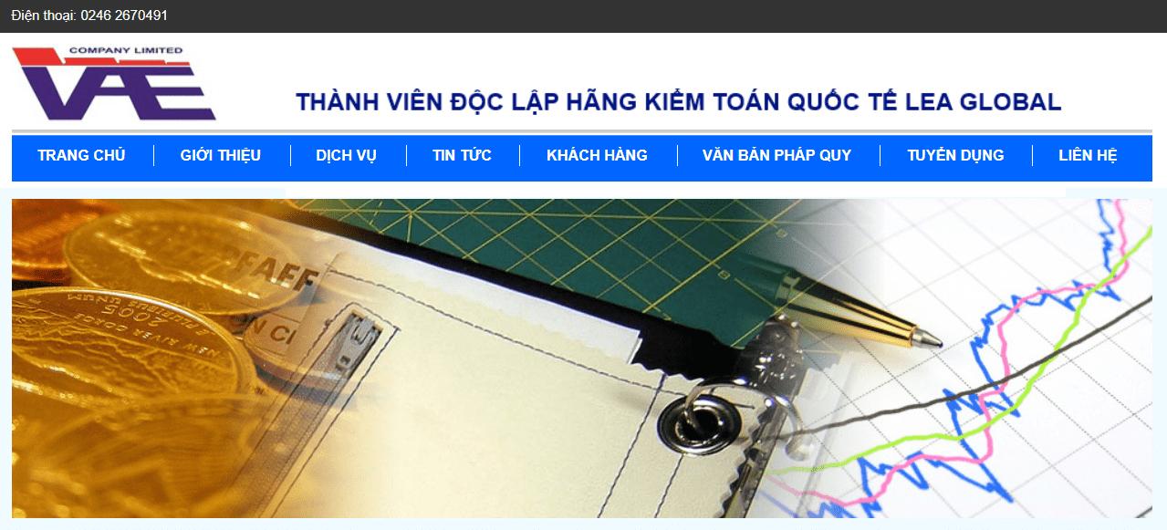 công ty kế toán tại Hà Nội-Công ty TNHH Kiểm toán và Định Giá Việt Nam (VAE)