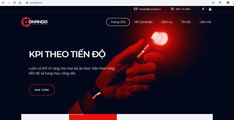 công ty thiết kế web tại Đà Nẵng - Conando
