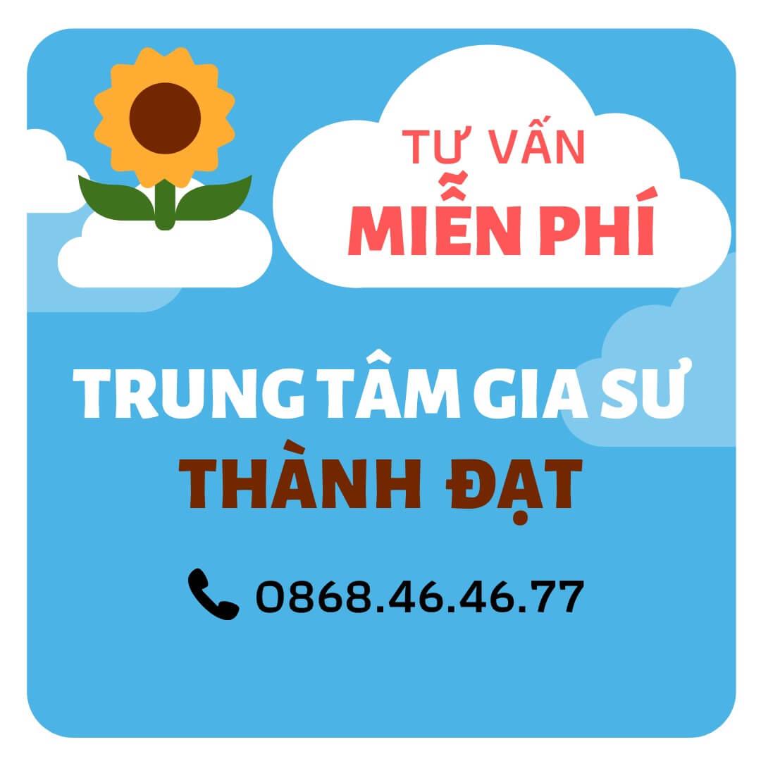 trung tâm gia sư Đà Nẵng-Thành Đạt
